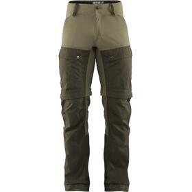 Fjällräven Keb Pantalones Gaiter Hombre, Oliva